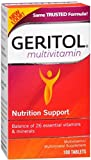 Geritol Complete Tablets 100 Tablets (Pack of 3)