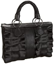 HARVEYS Lola Satchel,Black,one size