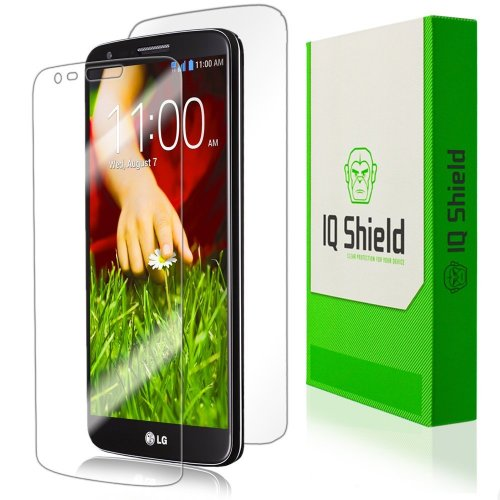 Iq Shield Liquidskin - Lg G2 Screen Protector + Full Body (Front And Back) - High Definition (Hd) Ultra Clear Phone Smart Film - Premium Protective Screen Guard - Extremely Smooth / Self-Healing / Bubble-Free Shield - Kit Comes With Retail Packaging And 1