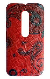 NSI Hard Textured Design Back Cover / Back Case for MOTO G 3rd Generation / Moto G3