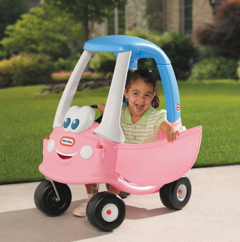 Little tikes ride on toys pedal cars princess cozy coupe for Little tikes motorized vehicles