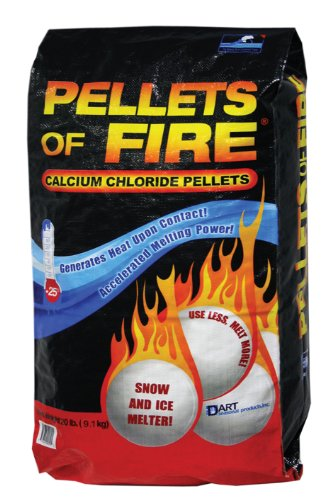 Buy Bargain Pellets of Fire CP20 Snow & Ice Melter Calcium Chloride Pellets 20-Pound Bag
