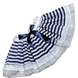 Sailor Girl Tutu Ruffle Skirt Fancy Dress Blue