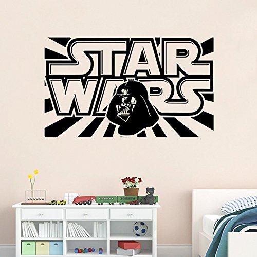 [Starwar Removable Wall Stickers Home Room Vinyl Mural DIY Decal Kid Bedroom Art Decor 13