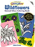 Wildflowers GemGlow Stained Glass Coloring Book (Dover Nature Stained Glass Coloring Book) (0486471489) by Green, John