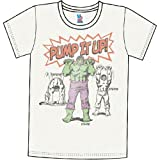 Incredible Hulk Pump It Up Men's T-Shirt by Junk Food