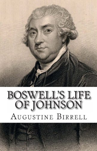 Boswell'S Life Of Johnson front-181920
