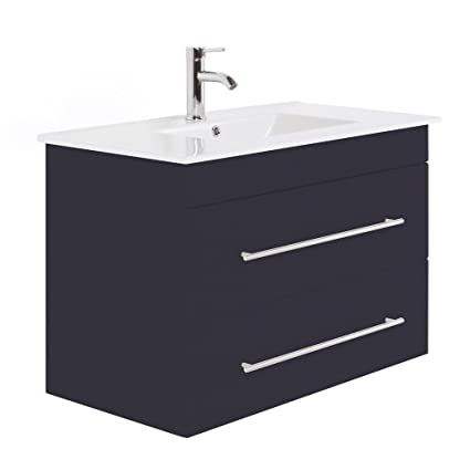 Infinity 900 Bathroom Furniture Anthracite Semi-Gloss