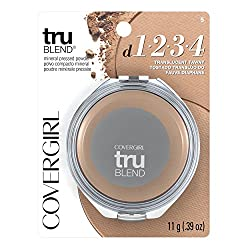 CoverGirl Trublend Minerals Pressed Powder, Translucent Tawny 5, 0.39-Ounce