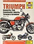 Triumph Bonneville, T100, Speedmaster...
