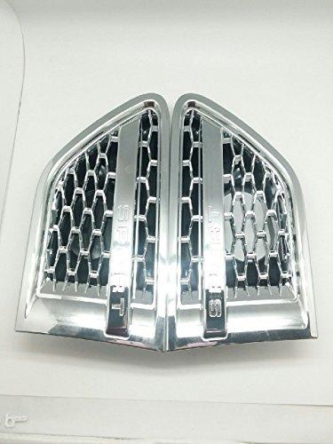 Chrom Abdeckgitter für seitliche Lüftungsschlitze, für 10–13Range Rover Sport L320, 2 Stück