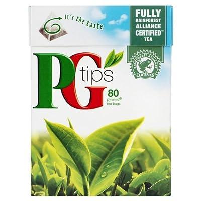 PG TIPS -- hochwertiger schwarzer Tee -- 80 Beutel von PG TIPS bei Gewürze Shop