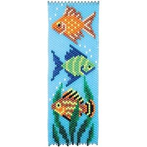 tropical fish beaded banner kit co uk kitchen home