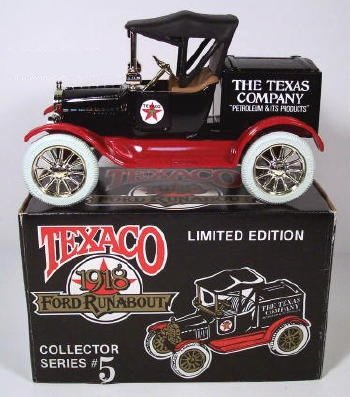 1988 Texaco, 1918 Ford Runabout, Collector Series #5, 1/25 Scale #2728 - 1