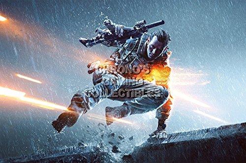 "CGC grande Poster ""Battlefield 4 PS4, PS3, XBOX ONE, BAF014, Carta, 24"" x 36"""
