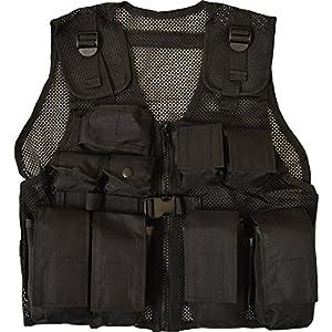 Nitehawk - Gilet tactique/de combat - style militaire/police - enfant