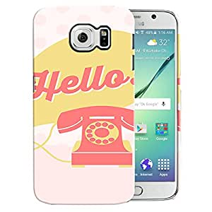 Theskinmantra Hello..!! Back Cover for Samsung Galaxy S6