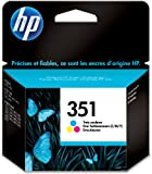 HP 351 - Print cartridge - 1 x colour (cyan, magenta, yellow) - blister with RF alarm