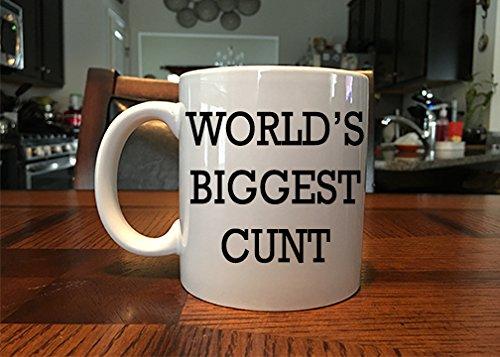 Funny Worlds Biggest Cunt Coffee/tea Mug