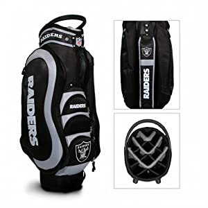 Oakland Raiders Medalist Cart Bag by Team Golf