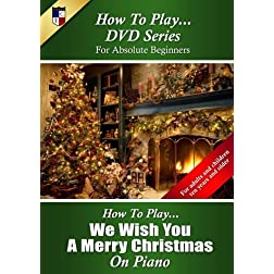 How To Play We Wish a Merry Christmas on Piano