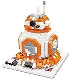 BB-8 figure from The Force Awakeness. Miniblocks assembly kit. 592 miniature blocks.
