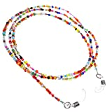 BCP Color Hand Beaded Eyeglass Chain Holder /Colorful Beads Sunglass Cord Eyewear Retainer for Women