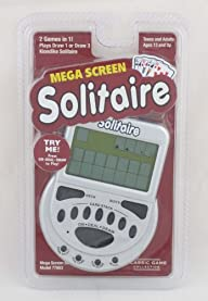 MegaScreen Solitaire Handheld Game