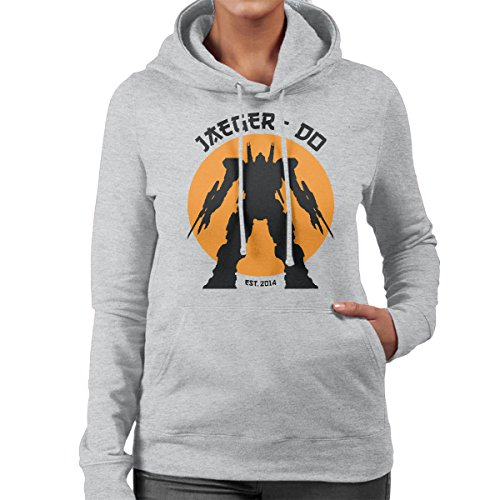 Jaeger Do Pacific Rim Karate Kid Women's Hooded Sweatshirt