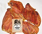 Cadet 100 Count Bulk Pig Ear Treat for Dogs
