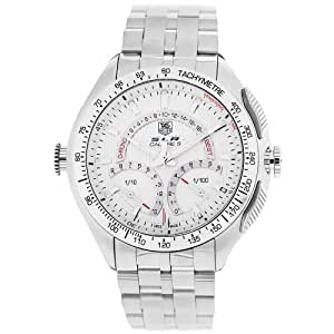 TAG Heuer Men's CAG7011.BA0254 SLR Calibre S Laptimer Chronograph Watch