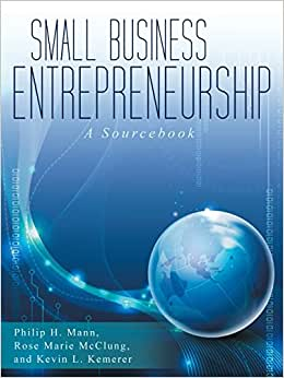Small Business Entrepreneurship: A Sourcebook