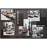 Decor Line 1710124 Set de Table Metropolis Polypropylène Transparent 44 x 28 cm