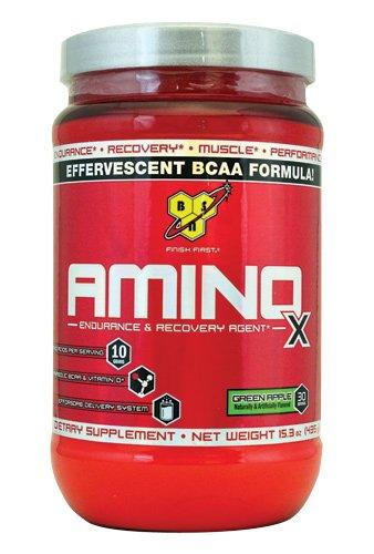 BSN Amino X Green Apple 30 Servings, 15.3-ounces
