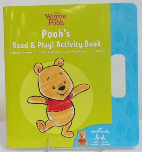Hallmark Kids KOB8104 Pooh's Read and Play! Activity Book - 1