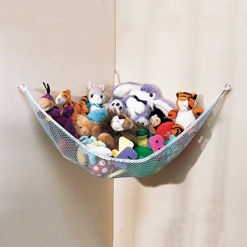 Check Out This Starting Small Toy Net Hammock for Stuffed Animals