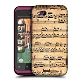 Head Case Designs Mozart Music Sheets Hard Back Case Cover for HTC Rhyme