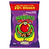 Mega Monster Munch Pickled Onion Flavoured Baked Corn Snack 48g (Pack of 30)