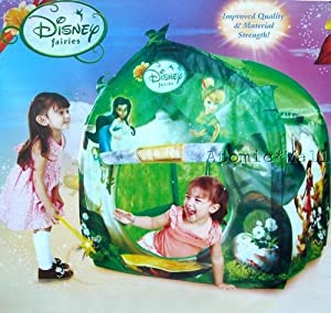 Disney fairies hide n fun tent toys games for Tinkerbell fairy door