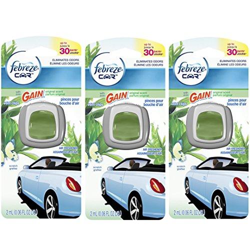 (Pack Of 3) Febreze Car Air Freshener Vent Clips - Original Scent front-469996