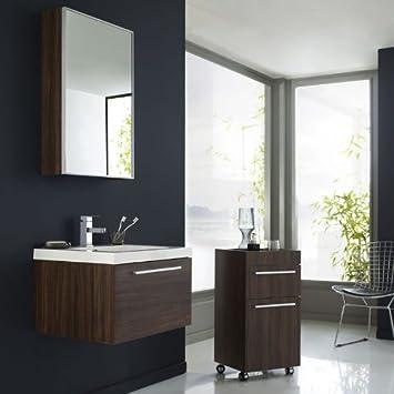 ensemble meubles de de salle de bains mixtes glide lavabo en en r sine meuble sous lavabo. Black Bedroom Furniture Sets. Home Design Ideas