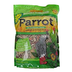 Kaylor-made Sweet Harvest Vitamin Enriched Parrot No Sunflower Seeds 4 Lb by Kaylor-Made Products