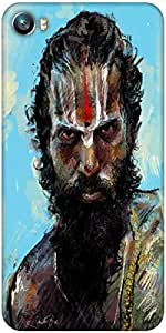 Snoogg sadhu full zoom 2784 Designer Protective Back Case Cover For Micromax Canvas Fire 4 A107
