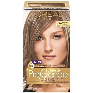 preference dark ash blonde chemical hair
