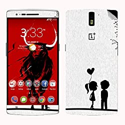 Theskinmantra LOVE teen SKIN/STICKER for OnePlus One