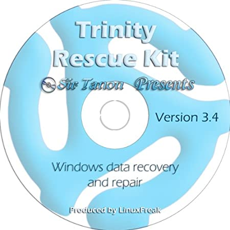 Trinity Rescue Kit 3.4 - Windows Rescue and Data Recovery