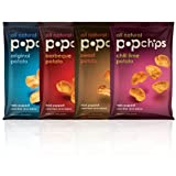 Popchips 11-Flavor Variety Pack, 0.8-Ounce Single Serve Bags (Pack of 24)