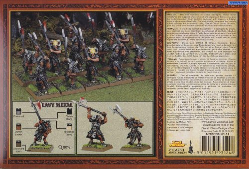 Games Workshop Chaos Bestigor Regiment