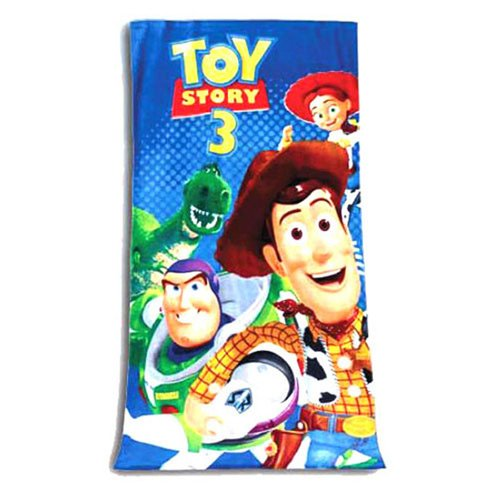 Velour Bath towel Toy Story Design: Toy Story 3