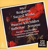 Biber - Requiem, Sacred Works, Battalia, Pauern Kirchfahrt, Ballettae, Sonatae Nikolaus Harnoncourt